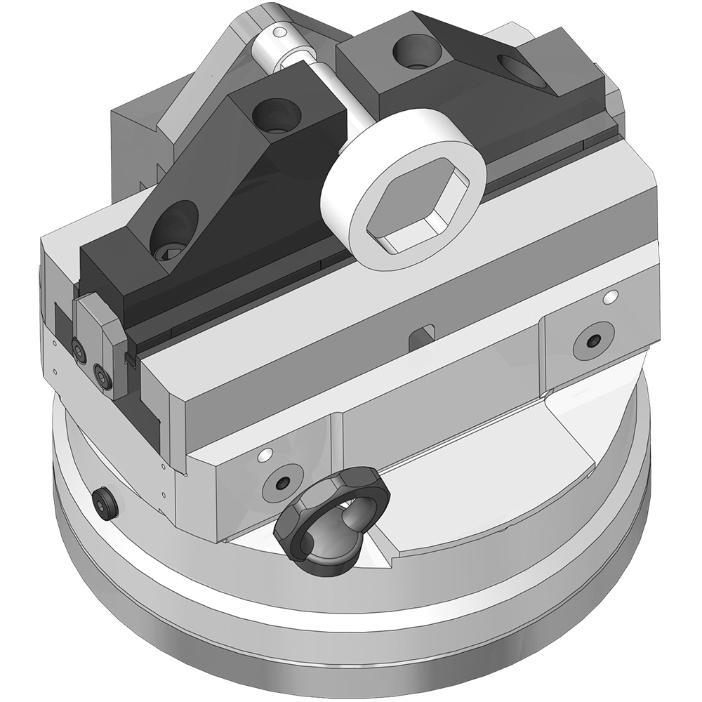 Clamping lever chuck