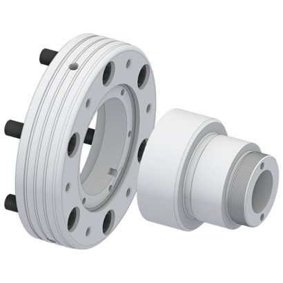 Flanges / drawtube adapter accessories