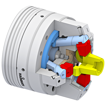 Solution 2x2 bolt chuck centric clamping